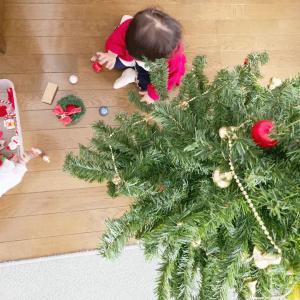 年代物のクリスマスツリー