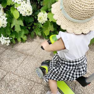 【子供服】新しい帽子とサンダル届いたよ