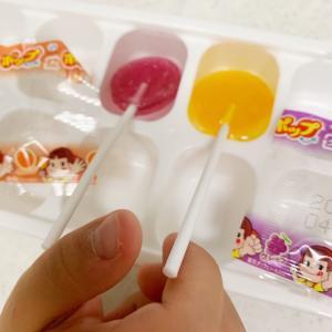 【今日の遊び】キャンディでアイス作り