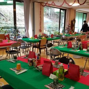 偕楽園ホームのクリスマス会食♪