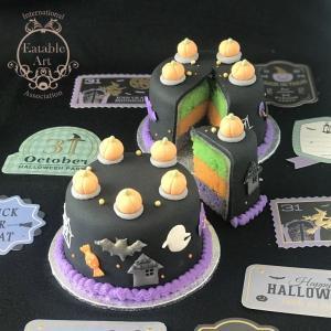 【募集】新メニュー「シュガーケーキ」レッスンはじまります。10月は「ハロウィンケーキ」です。