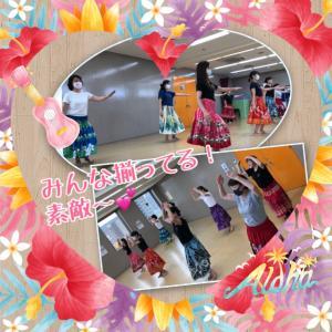 生徒さんから嬉しい言葉を頂きました!【大阪・吹田市・江坂】フラ&タヒチアンダンス教室