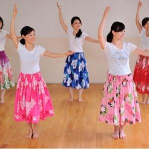 〈動画〉女子高生気分でワイワイ♪【大阪・吹田市・江坂】フラダンス教室