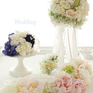 ウエディングの装飾花♡手作り