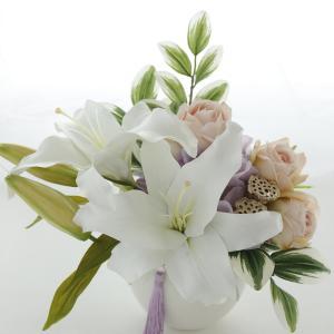 お供え花:カサブランカ