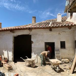 田舎の家はいよいよ修復工事