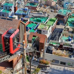 釜山駅近くのイバグキルのお散歩