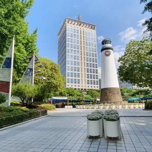 釜山市役所周辺歩き 韓国特有の住宅街