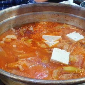釜山市役所近くのおいしい店 チゲマウル