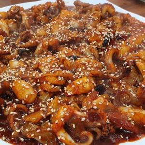 きのこの釜山ライフ 食欲そそるツクミポックン