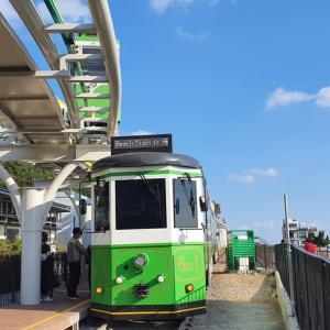 釜山の新名所 ブルーライン 海岸線を観光列車で行こう!
