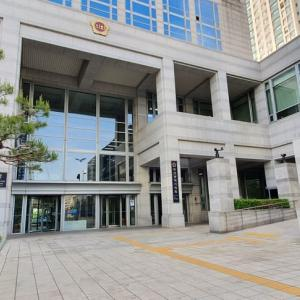 日本国籍で18年勤めた釜山市役所 正面口