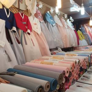 釜山で韓服レンタル いろいろ