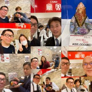 大阪の友人、知人、親戚、怪獣達が来て下さいました。