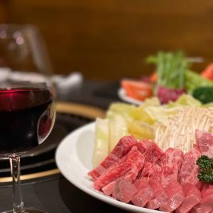 ワインと焼肉