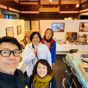 桜貝の展示会