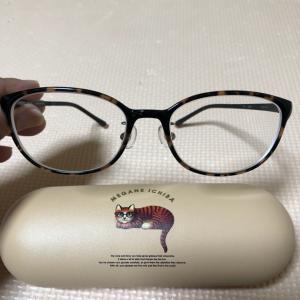 新しい眼鏡(^-^)