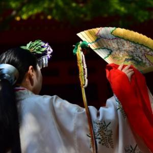 耳の遠い神様、春日大社「榎本神社例祭」