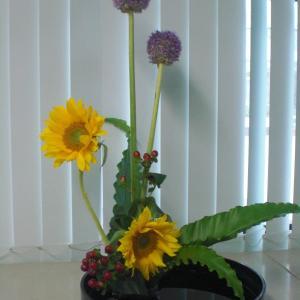 今月の生け花