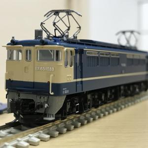 3089-1 EF65-1000 前期形の入線整備