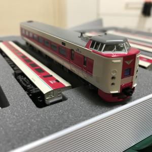 KATO 381系 ゆったりやくも 入線整備 (1)