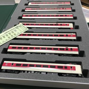 KATO 381系 ゆったりやくも 入線整備 (2)