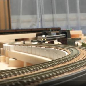 PECOフレキシブルレール接続部の補修と「あの人道橋が・・・」