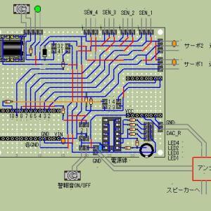 レイアウト製作 ~第1本線 踏切警報機/遮断機の作動回路~