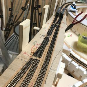 レイアウト制御 第1本線・本線連絡線接続部