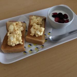 朝ごはん食べる習慣。