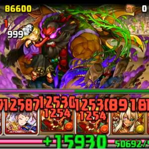 【パズドラ】第29回チャレンジダンジョンLv10[ノーコン]シャンメイパ 紅の蝶が舞う