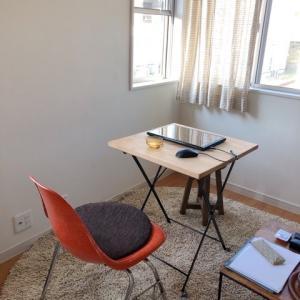 家族の在宅率が上がってきたので、作業スペースを整えてみた
