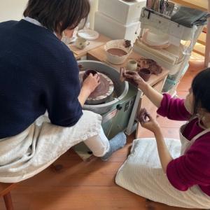 陶芸と食とアロマの癒し時間