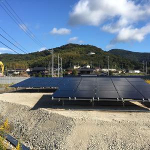増設が完成?2号発電所に太陽光発電が増えました。