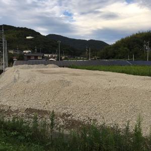2号発電所の増設用地の造成がだいぶ進んできました。