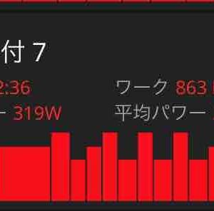1/19(日) 朝練