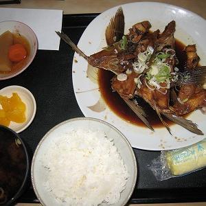 名古屋中央卸売市場の定食屋