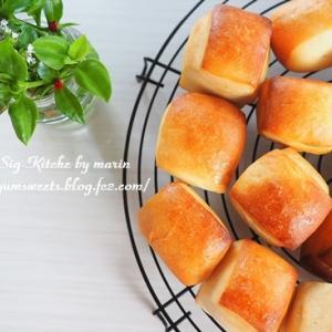 レシピ動画「小さなミルクパン・パヴェの作り方」