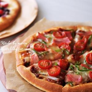 レシピ動画『ピザの作り方・ミックスピザとデザートピザ』