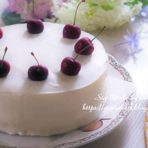 動画『可愛いバースデーケーキの作り方・イチゴのない季節の誕生日』