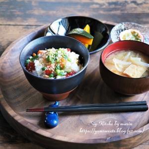 秋鮭ごはん・ひつまぶし【レシピ】