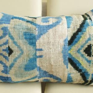 Asian Silk Velvet Pillow Case