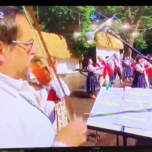 父 チェコの国営テレビに出演
