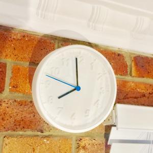 IKEA購入品 ☆ $2.50!!!白の掛け時計