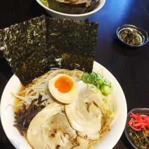 """友人と""""美味しいって評判の@麺処 一花"""""""