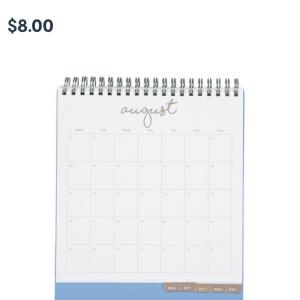 今年もKmartの卓上カレンダー