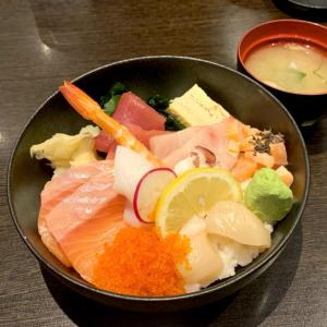 ゆっくり食べれた海鮮丼♡細川