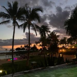アウラニ旅行記12 リゾート内プールとプライベートビーチ