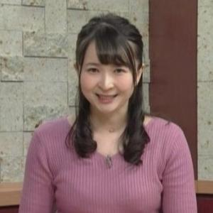 【ひるまえほっと】NHK宇都宮亀谷渉子(たかこ)キャスタームチムチニットでブラ線も!?