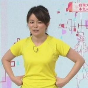 【ひるまえほっと】松尾衣里子キャスターはムチムチストレッチ担当!?【自粛で3キロ増!!】